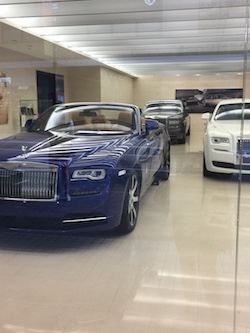 Bentley Dealership